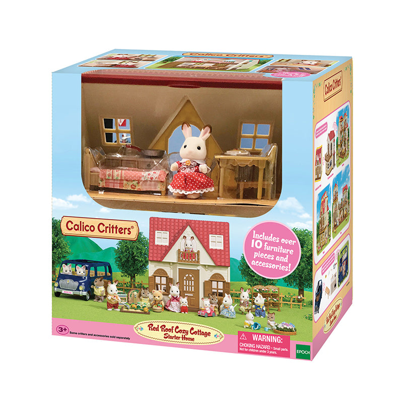 Red Roof Cozy Cottage Starter Set - Happki