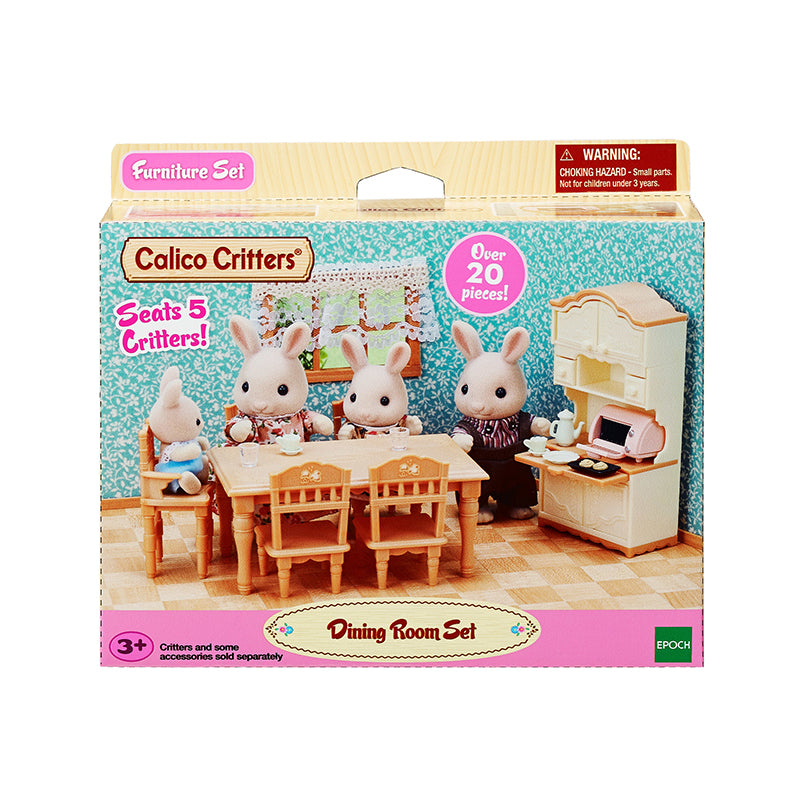 Epoch Calico Critters Room set a stylish dining room Se 150