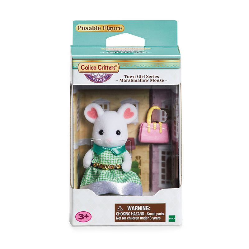 Town Girl Series - Marshmallow Mouse - Happki