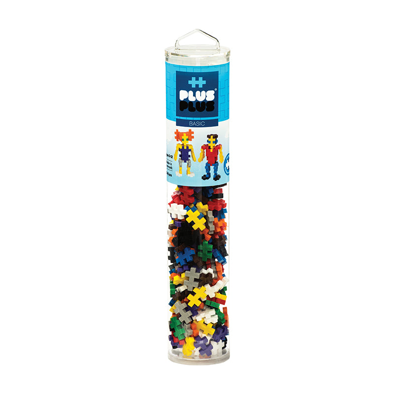 Plus Plus Basic- 240 pcs Tube - Happki