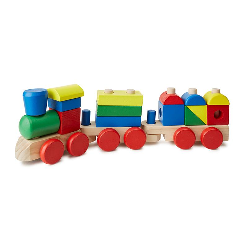 Stacking Train Toddler Toy - Happki