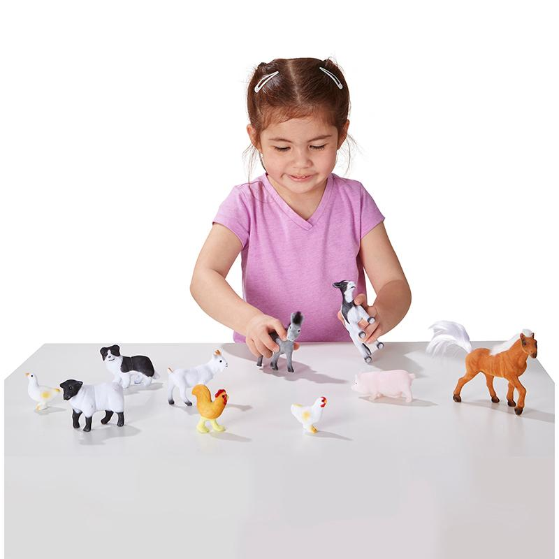 Farm Friends - 10 Collectible Farm Animals - Happki