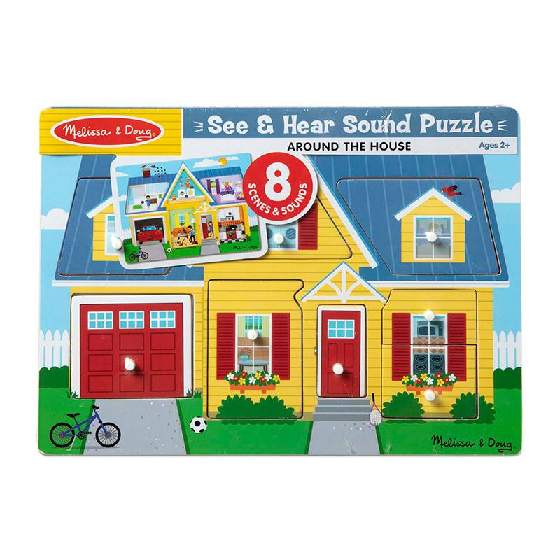 Around the House Sound Puzzle - Happki