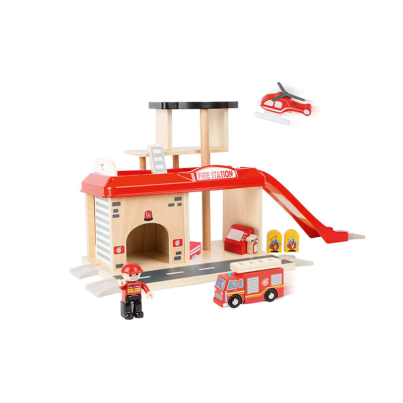 Fire Station with Accessories - Happki