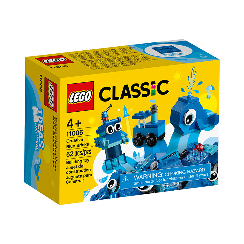 LEGO® Classic Creative Blue Bricks - Happki