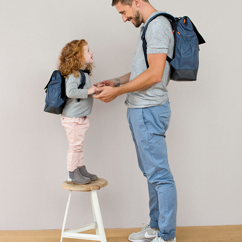 Vintage Little One & Me Diaper Backpack - Happki