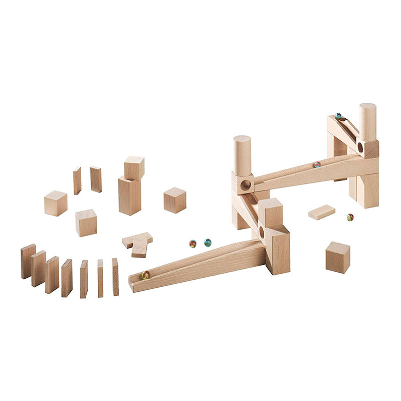 First Playing Starter Set - Ball Track (Marble Run) - Happki