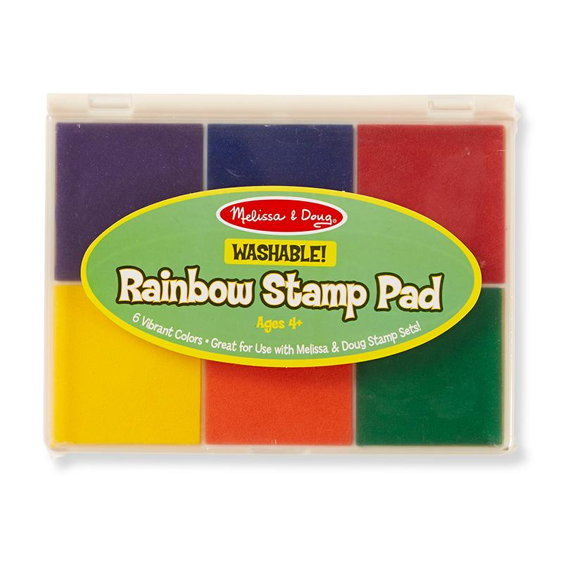 Rainbow Stamp Pad - Happki