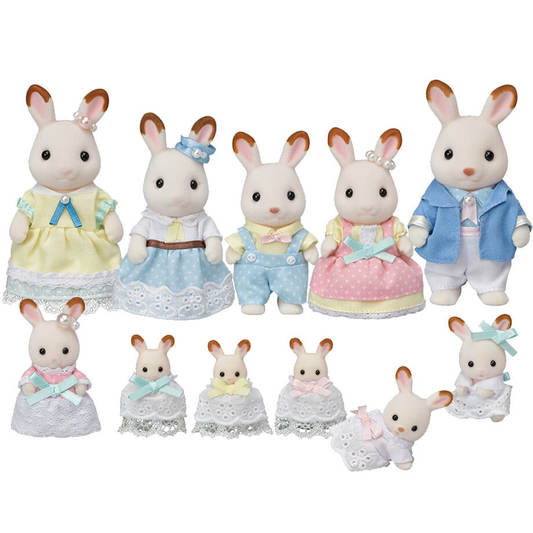 35th Anniversary -The Hopscotch Rabbit Family Celebration Set - Happki