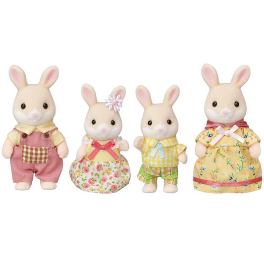 Limited Edition Marguerite Rabbit Family - Happki