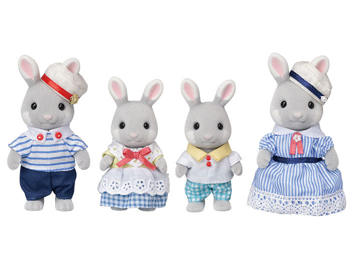 Limited Edition Sea Breeze Rabbit Family - Happki