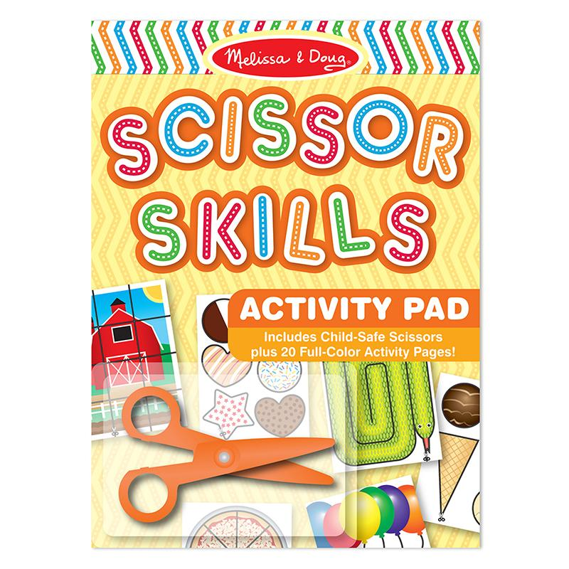 Scissor Skills Activity Pad - Happki