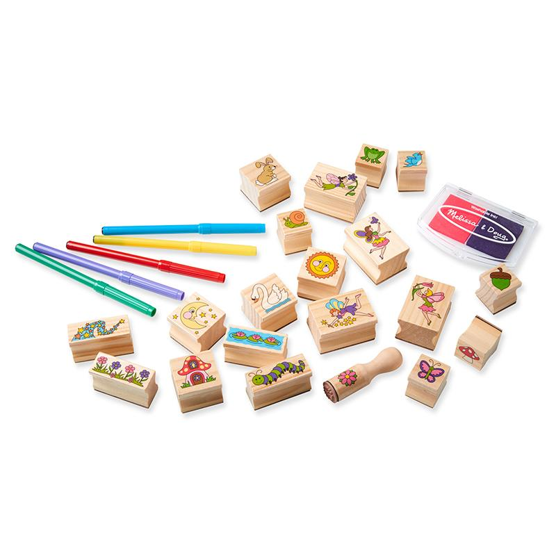 Stamp-a-Scene Fairy Garden - Happki