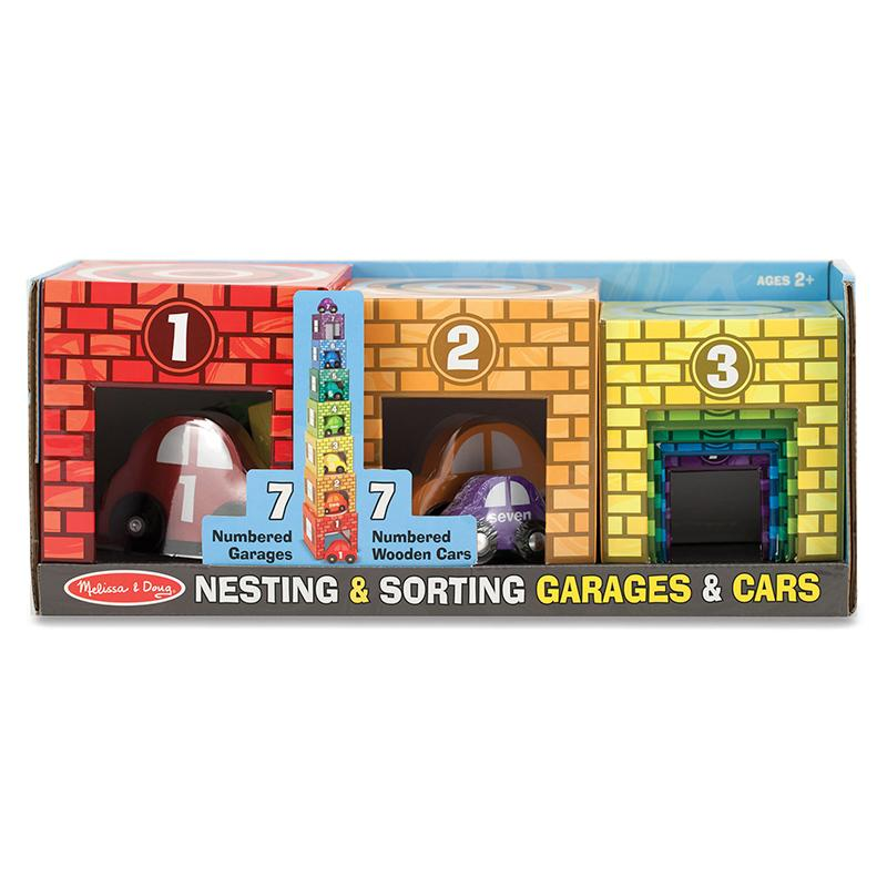 Nesting & Sorting Garages & Cars - Happki