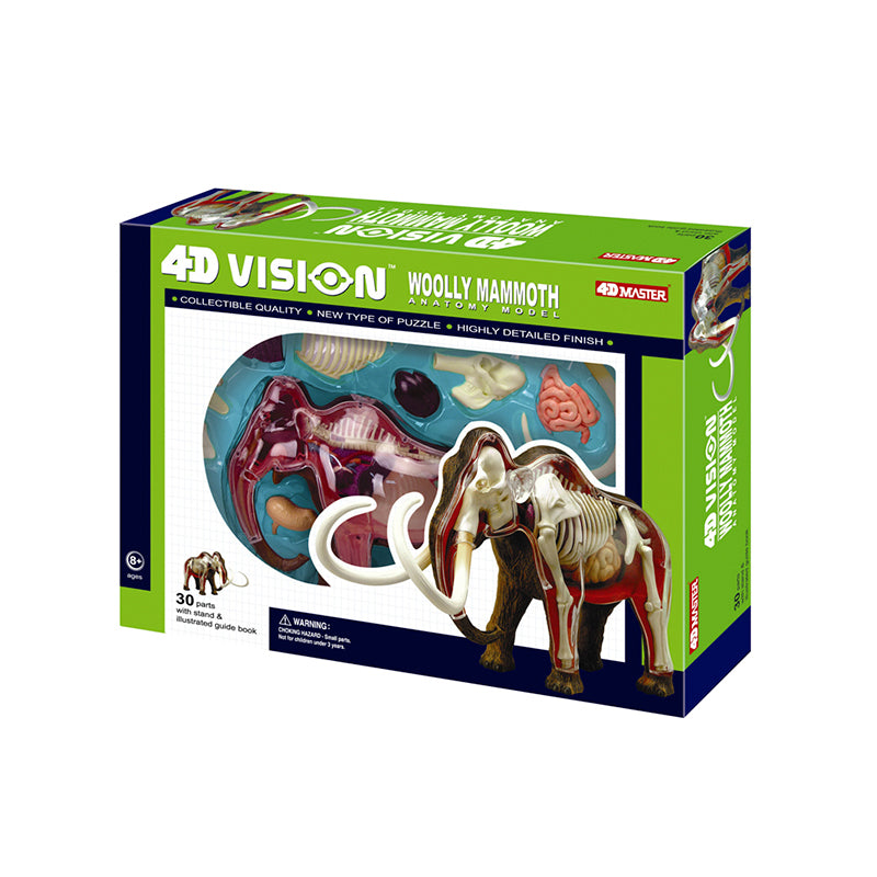 Woolly Mammoth Anatomy Model - Happki
