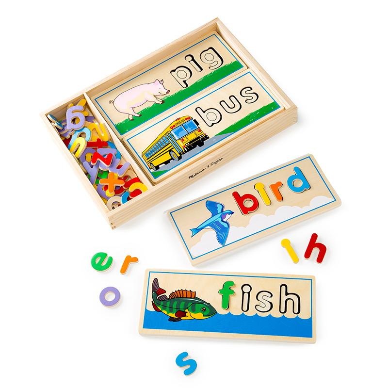 See & Spell Learning Toy - Happki