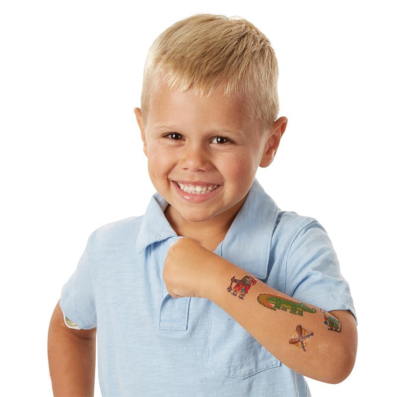 My First Temporary Tattoos: 100+ Kid-Friendly Tattoos - Adventure, Creatures, Sports, and More - Happki
