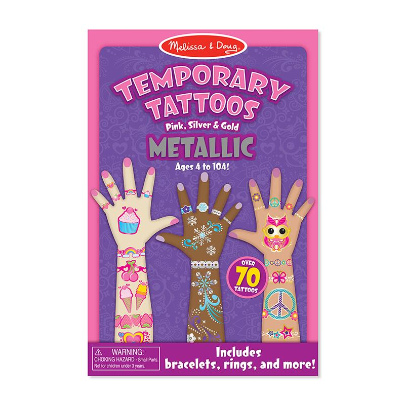 Temporary Tattoos - Metallic - Happki