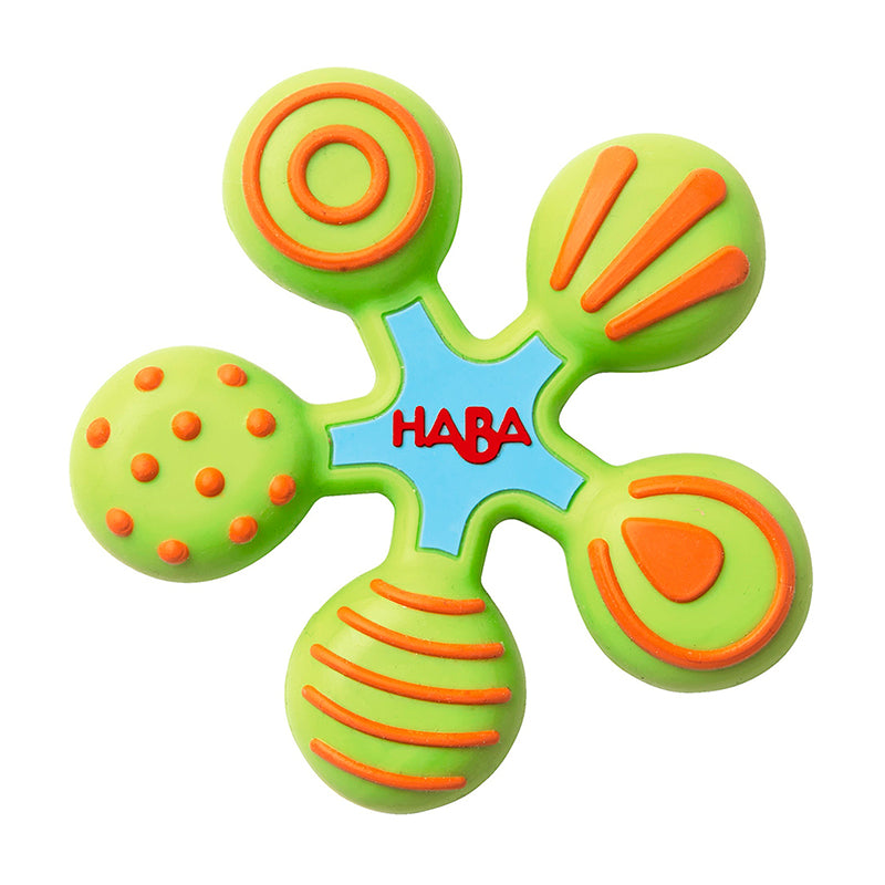 Star Silicone Clutching Teether - Happki