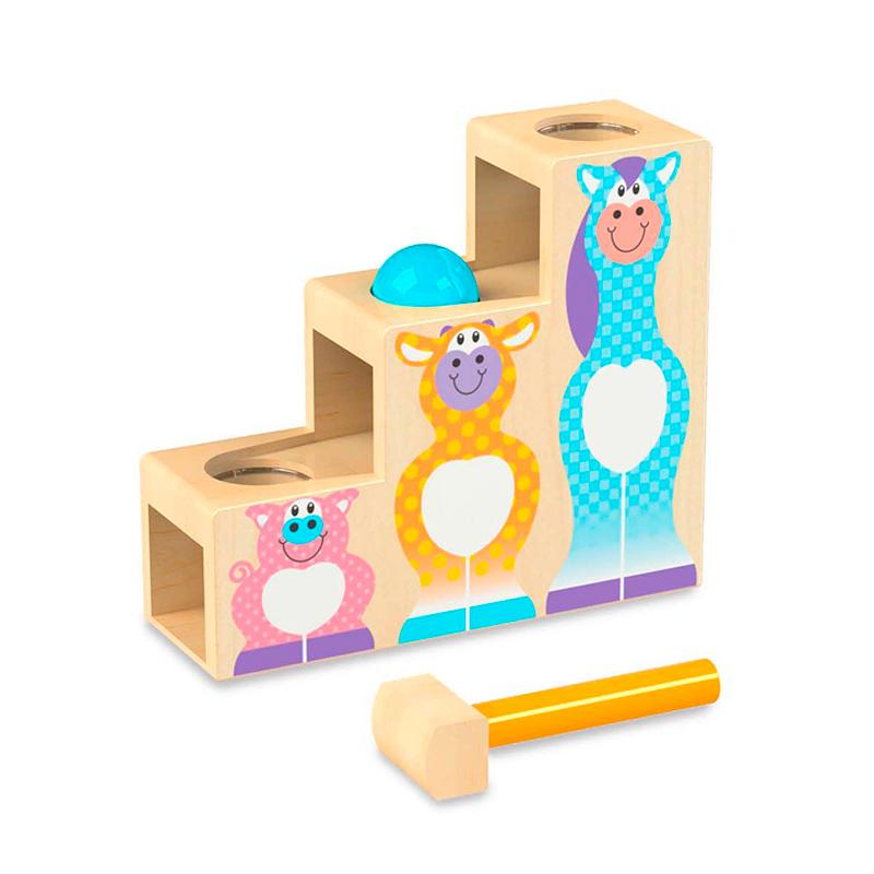 Melissa and Doug First Play Pound & Roll Stairs