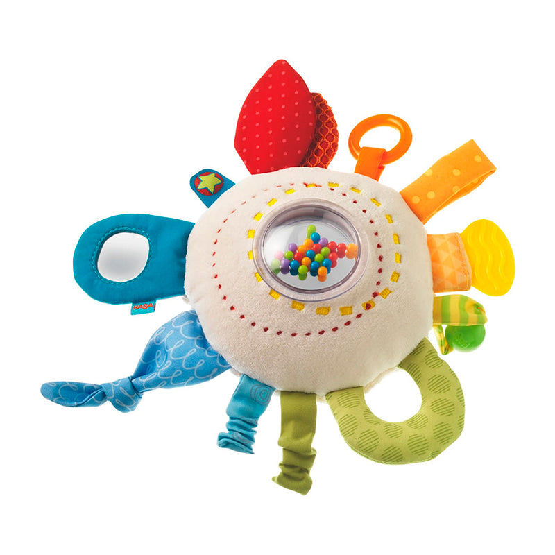 Teether Cuddly Rainbow Round - Happki