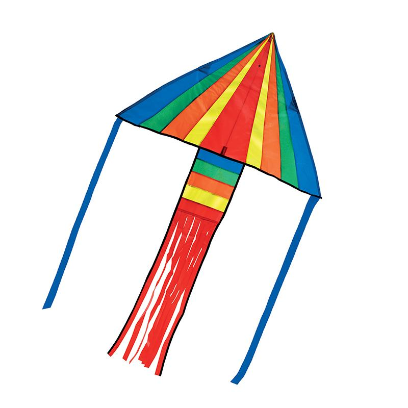 Rainbow Rocket Delta Kite - Happki