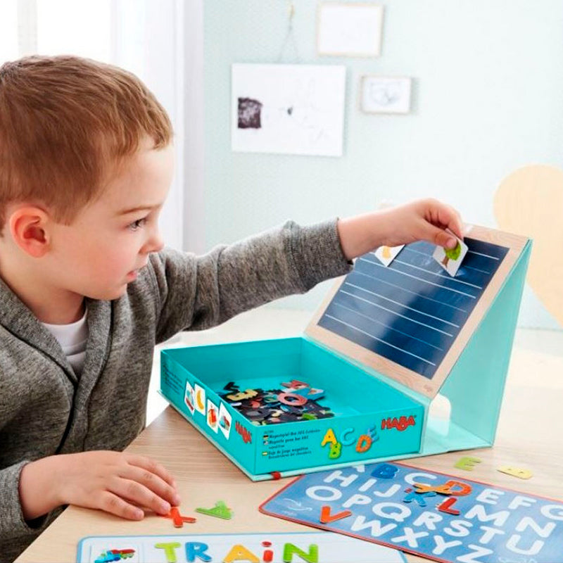 Magnetic Game Box ABC Expedition - Happki