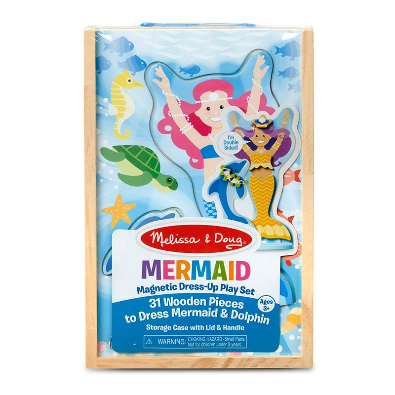 Mermaid Magnetic Dress-Up Play Set - Happki