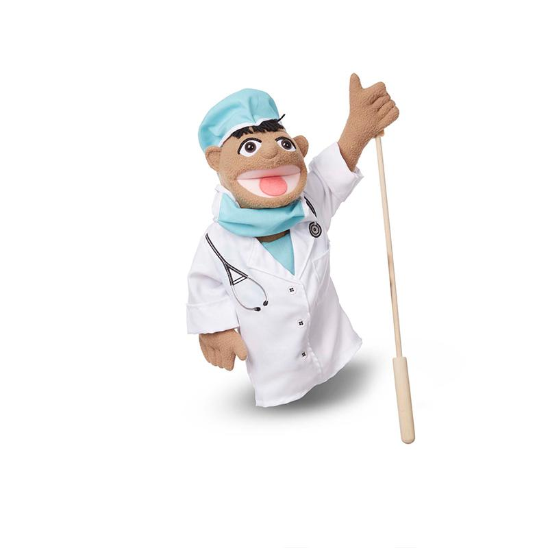 Surgeon Puppet in Scrubs - Happki