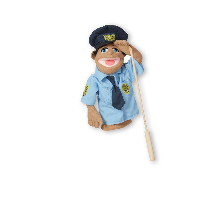 Police Officer Puppet - Happki