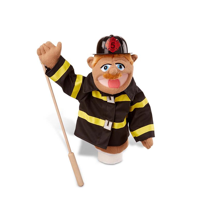 Firefighter Puppet - Happki