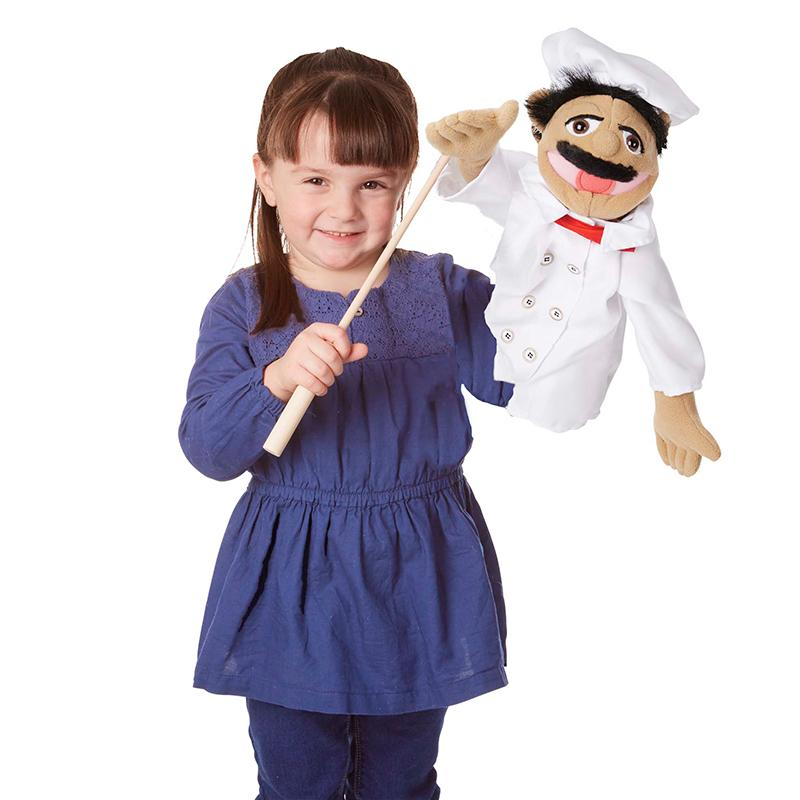 Melissa and Doug Realistic Chef Puppet