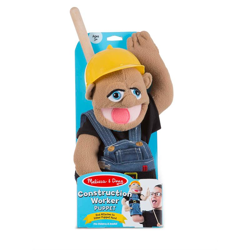 Construction Worker Puppet - Happki