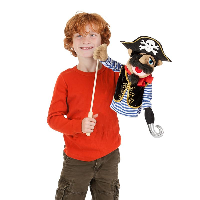 Barnacle Bart Pirate Puppet - Happki