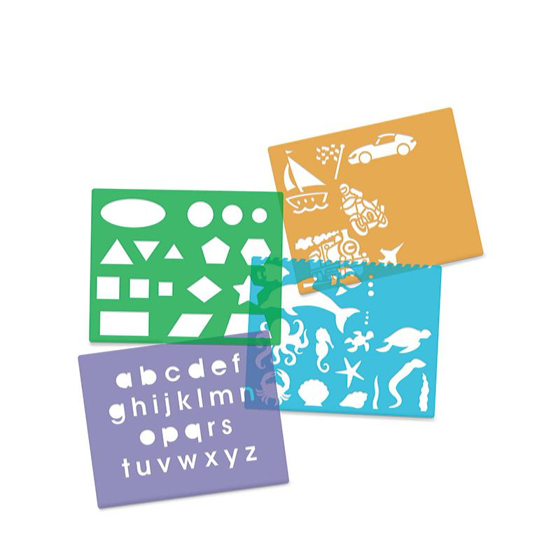 Created by Me! Stencil Art Activity Kit - Happki