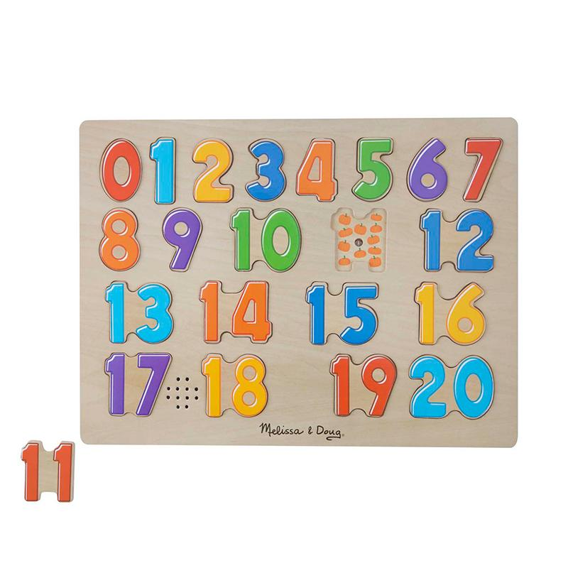 Numbers Sound Puzzle - 21 Pieces - Happki