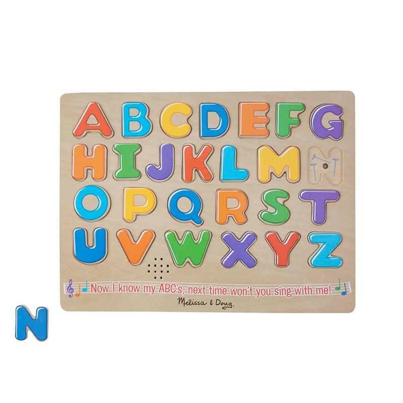 Alphabet Sound Puzzle - 26 Pieces - Happki