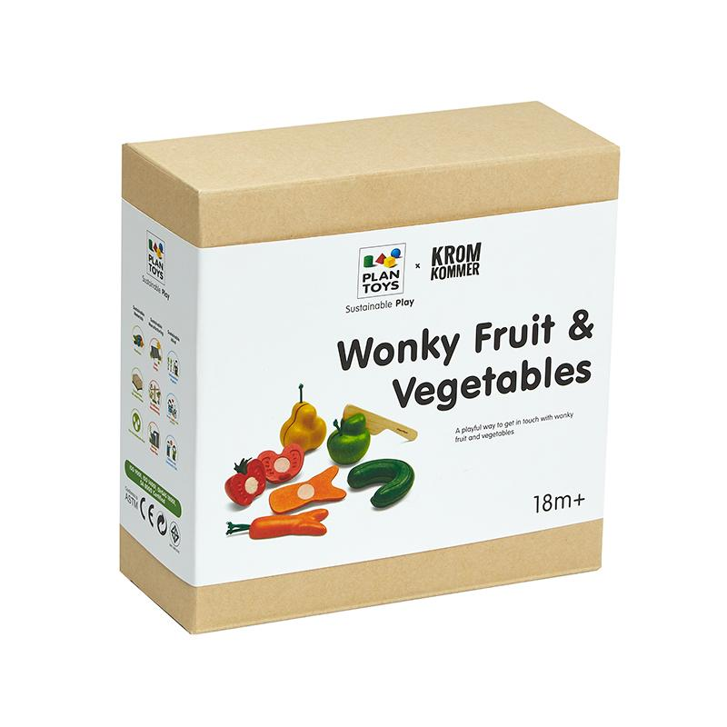Wonky Fruit & Vegetables - Happki