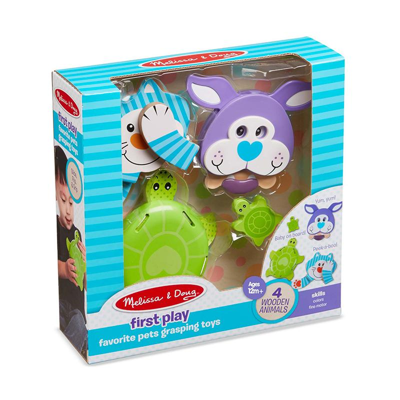 First Play Favorite Pets Grasping Toys - Happki