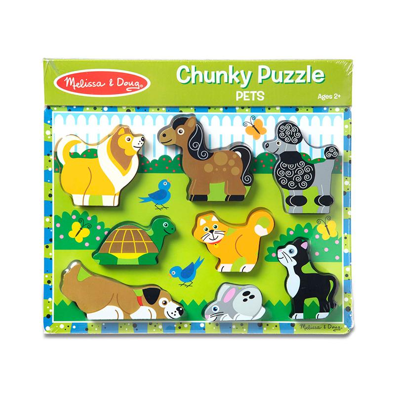Pet Pals Chunky Puzzle Fat Brain Toys Pet Chunky Puzzle
