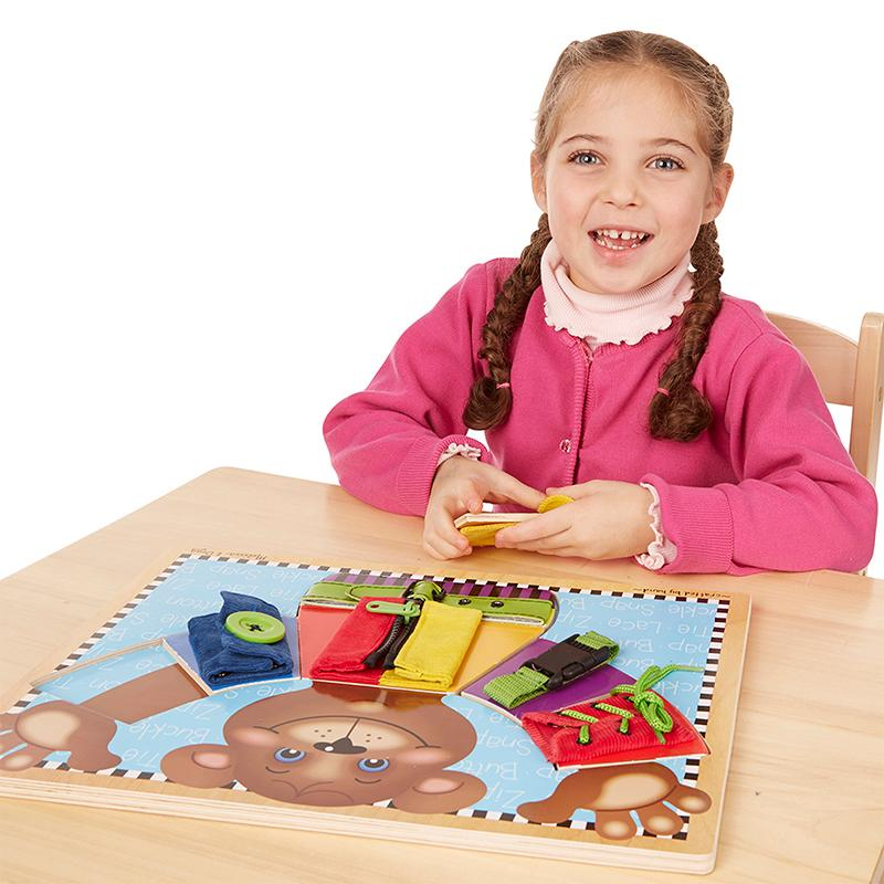 Basic Skills Puzzle Board - Happki