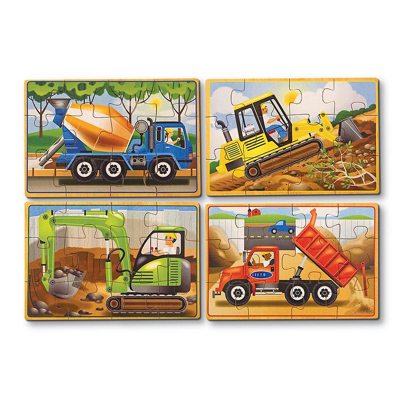 Construction Jigsaw Puzzles in a Box - Happki