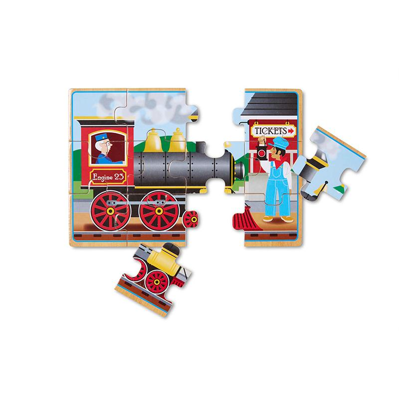 Vehicles Jigsaw Puzzles in a Box - Happki