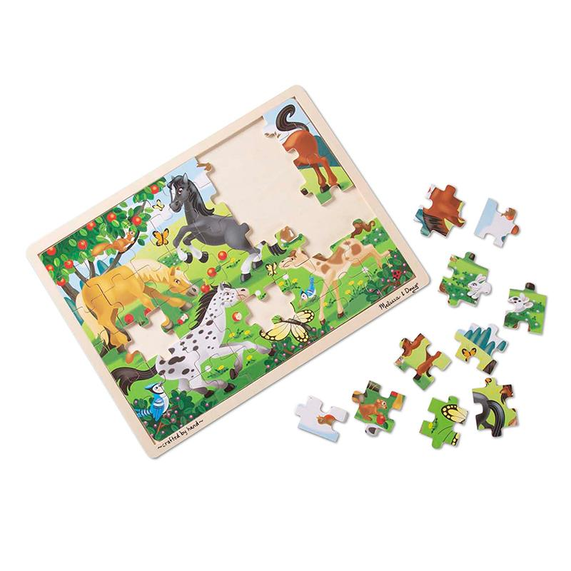 Frolicking Horses Jigsaw Puzzle - 48 Pieces - Happki