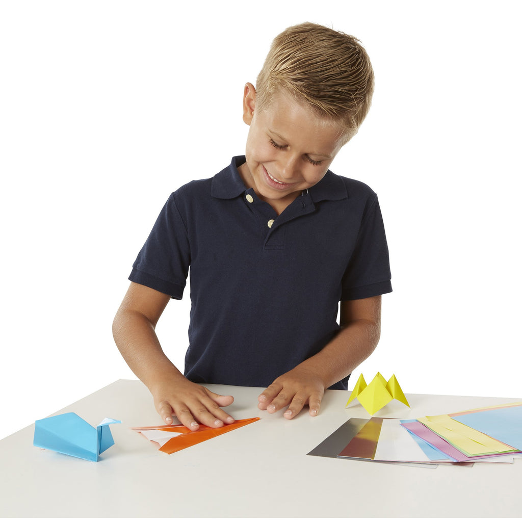 Origami Paper Vibrant Color Sheets - Happki
