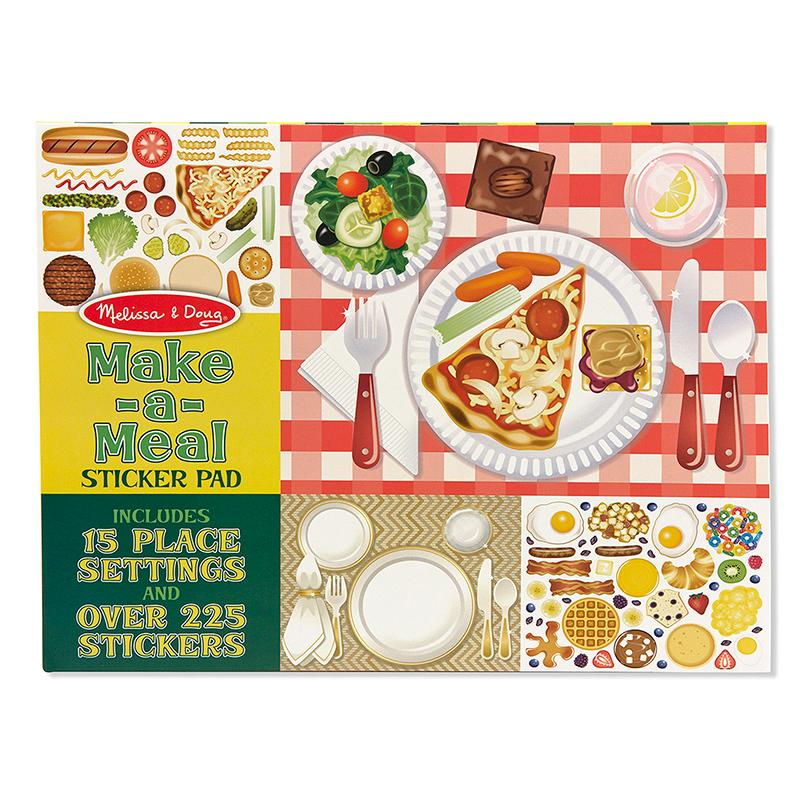 Make-a-Meal Sticker Pad - Happki