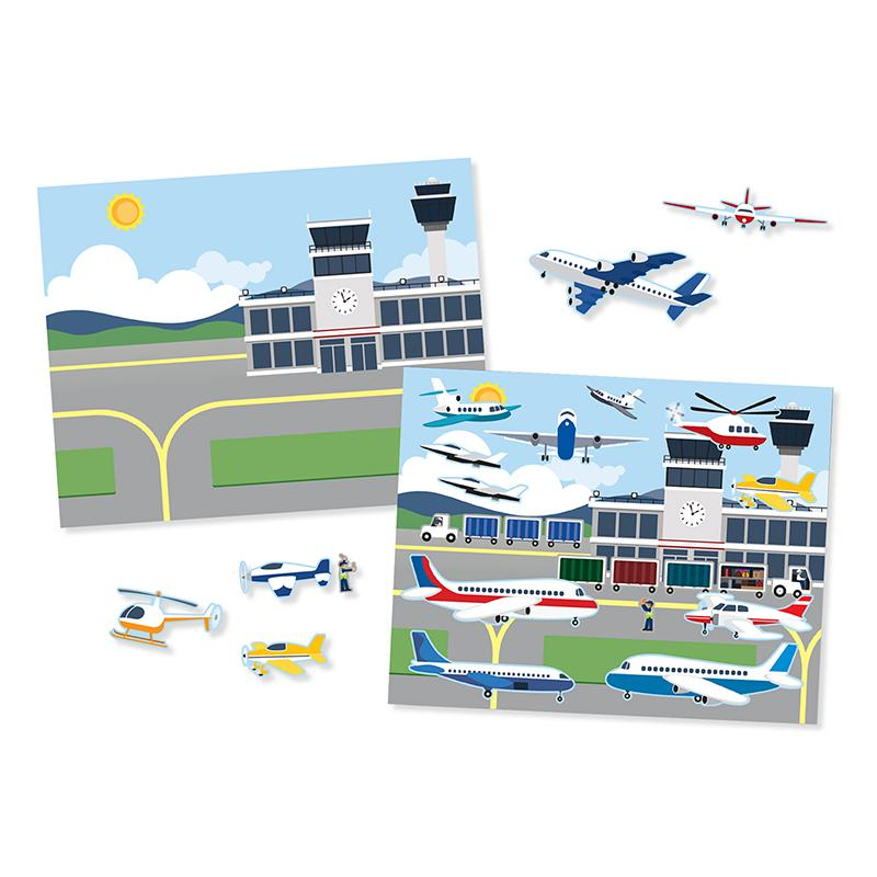 Reusable Sticker Pad - Vehicles - Happki