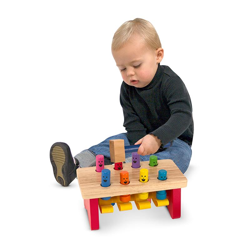 Deluxe Pounding Bench Toddler Toy - Happki