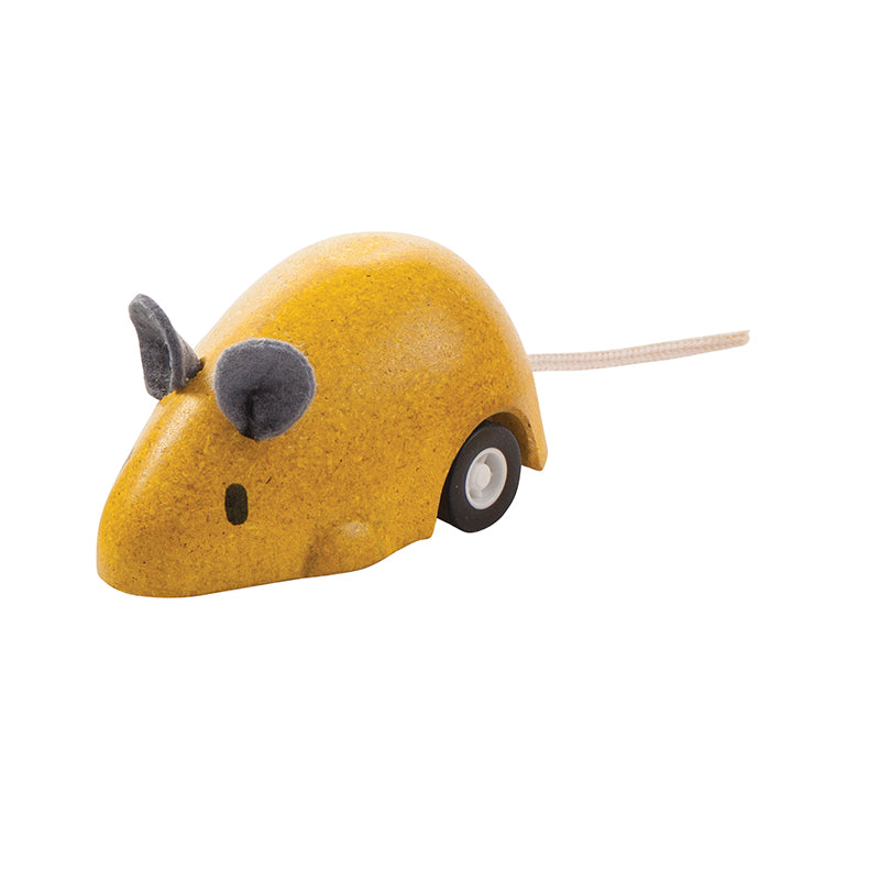 Yellow Moving Mouse - Happki