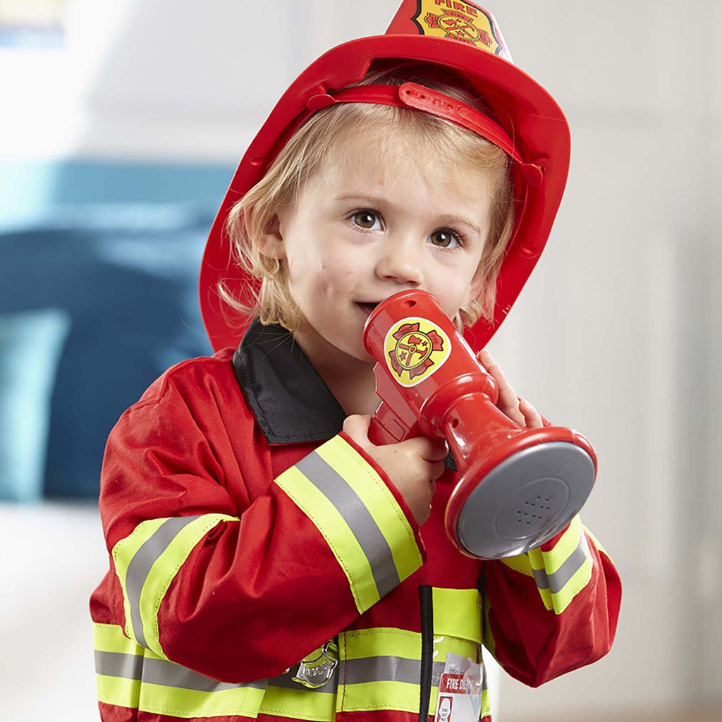 Fire Chief Role Play Costume Set - Happki